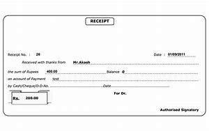 receipt of payment template helloalive With receipts for payments template