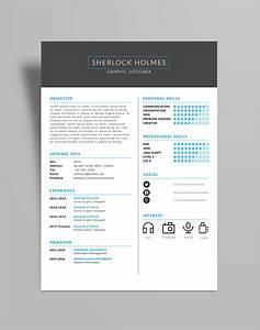 free multipurpose resume cv design template psd file With cv template design free