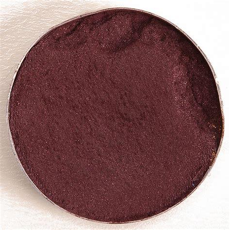 mac eyeshadow swatches burgundy