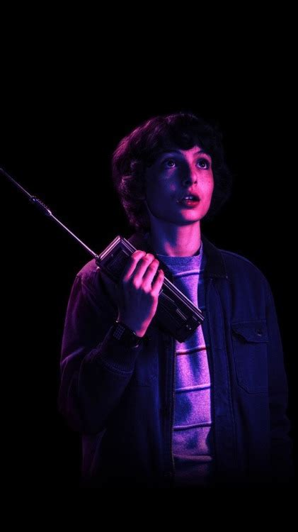 finn wolfhard purple tumblr