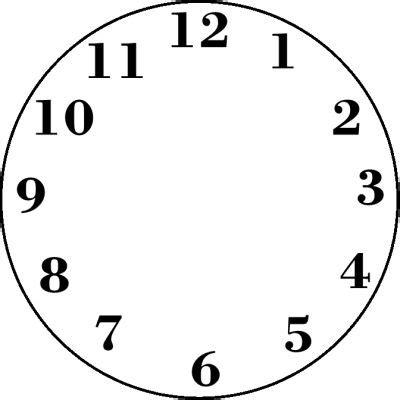 clock face silhouette  getdrawings