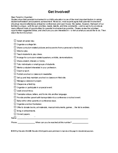 Letter Of Interest Exle Education by Templates Letters Parents Click Here