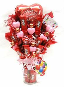 Valentine's Candy Bouquet w/Kit Kat Candy Bars | Business ...