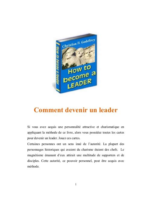 comment devenir cuisiniste comment devenir un leader