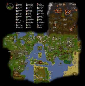 Old School RuneScape Map 2007