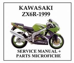 1998 1999 Kawasaki Ninja Zx 6r Service Manual And Parts