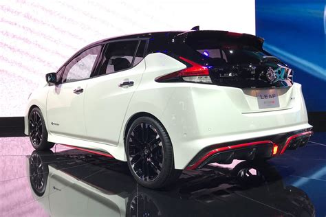 Nissan Leaf Nismo Sexes Up The Bestselling Ev Line Car