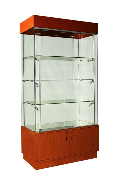 sizes of kitchen cabinets 1000mm wooden display cabinet modern led lighting 5301