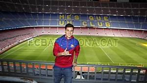 Coutinho 39It Is A Dream Come True To Be Here39 FC Barcelona