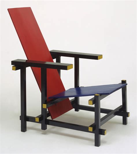 and blue chair 1918 i design