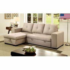 sectional sofas couches sectional sleeper sofas sears With furniture of america lawrence sectional sofa sleeper with storage