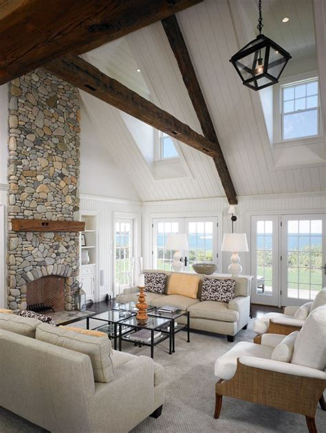 New Ideas For Decorating Living Room by Remarkable Vaulted Ceiling Decorating Ideas For Delightful