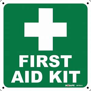 FIRST AID - First Aid Kit Sign   Westland Workgear