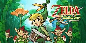 The Legend Of Zelda The Minish Cap Game Boy Advance