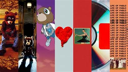 Kanye West Album Discography Graduation Clean Desktop