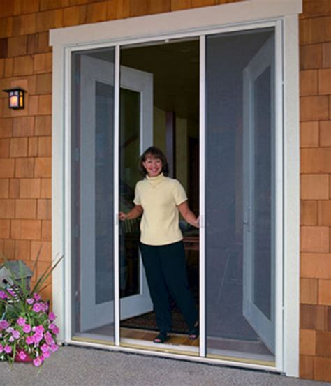 retractable screens patio door screens sliding screen