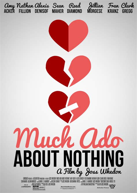much ado about nothing modern script much ado about nothing poster v2 by bluemoonpriestess on deviantart