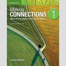 Making Connections 2nd Edition  Student's Book (level 1) By Jessica Williams On Eltbooks  20% Off