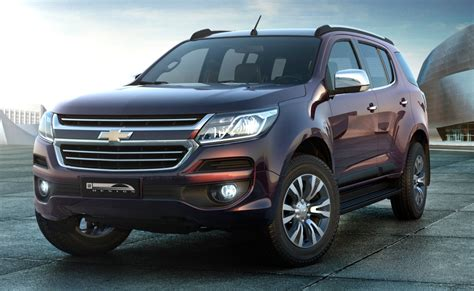 chevrolet trailblazer 2016 2016 chevrolet trailblazer facelift unveiled in brazil