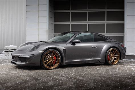 porsche carrera porsche 911 carrera 4s shows off topcar 39 s stinger body kit