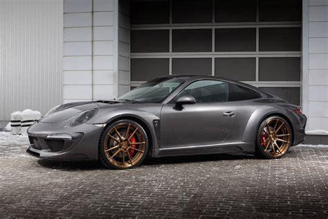 porsche carrera porsche 911 carrera 4s shows off topcar 39 s stinger body kit