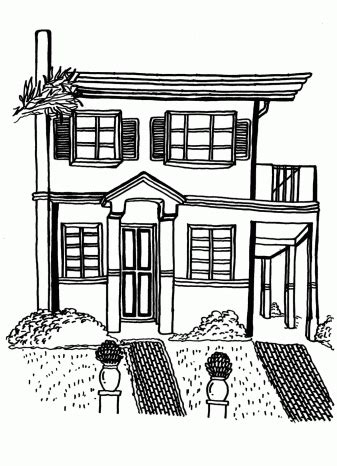 Coloring Ville by Villa Coloring Pages For Free