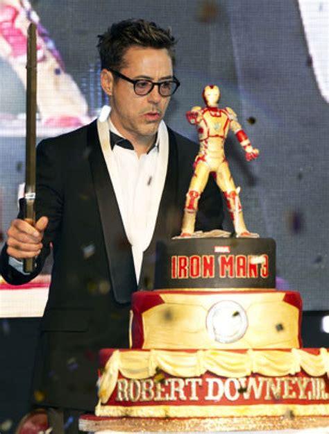 Celebrity Birthday Cakes  Robert Downey Jr's Birthday