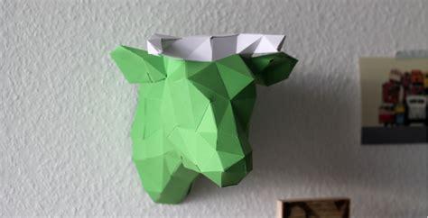 papershape  origami tierkoepfe