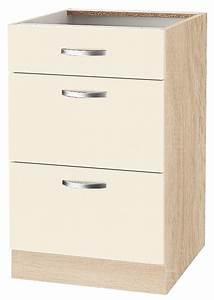 Küchenunterschrank Mit Schubladen 100 Cm : unterschrank flexi breite 50 cm online kaufen otto ~ Watch28wear.com Haus und Dekorationen