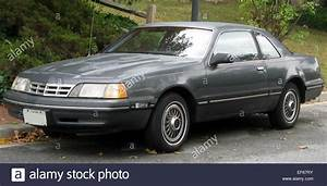 1987 1988 Ford Thunderbird 10 19 2010 Stock Photo