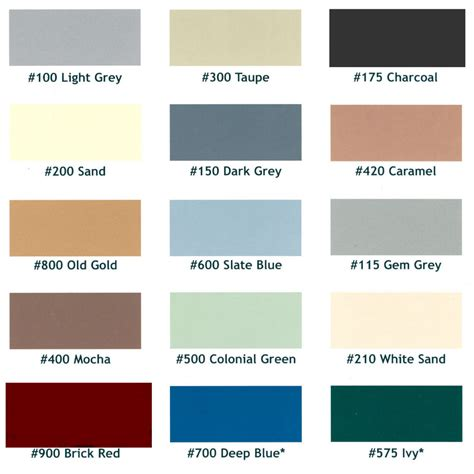 epoxy chip coating color chartjpg floor paint colors in
