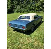 1965 64 1/2 Ford Mustang Convertible Factory 289 V8 4