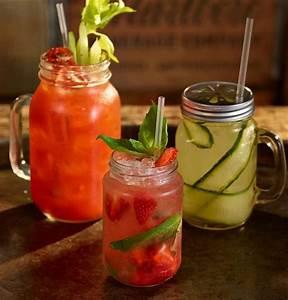 50cl Glass Mason-Drinking Jar | Cocktail Mug | Cocktail ...