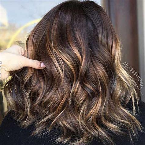 stunning blonde highlights  dark hair stayglam