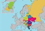 Eastern Europe Map Vector - Download Free Vector Art ...