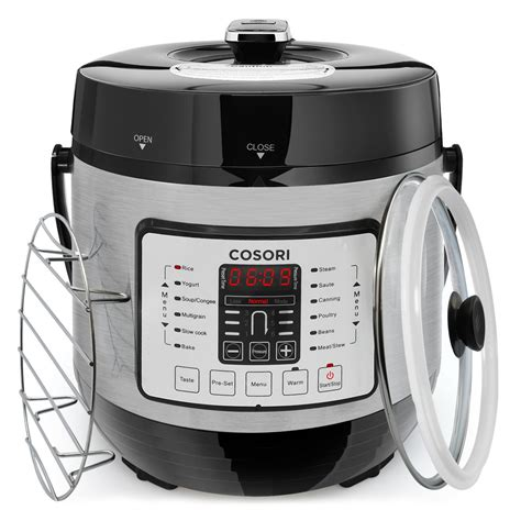pressure cooker amazon multi electric cosori stainless quart 1000w cookware slow rice steel digital