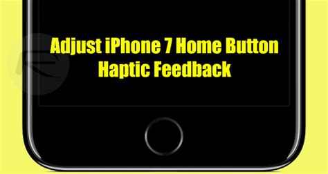 Iphone 7 Home Button Design : Iphone 7 Home Button Settings