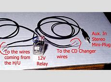 An Auxiliary Audio Input to the Audi OEM Head Unit and CD