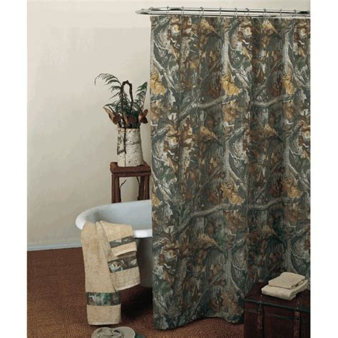 camo bathroom decor realtree timber shower curtain camo