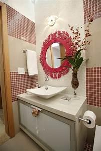 Miroir Salle De Bain Rond : 1001 id es pour un miroir salle de bain lumineux les ambiances styl es ~ Teatrodelosmanantiales.com Idées de Décoration
