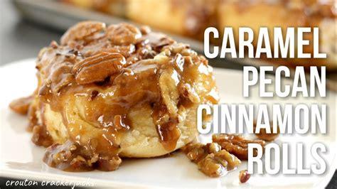 homemade sticky buns caramel pecan cinnamon rolls