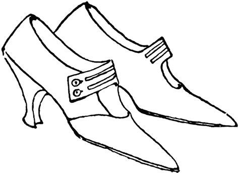 shoe clipart black and white shoes clipart black and white collection