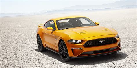 2018 Ford Mustang Sports Coupé Has Power At The Core Of