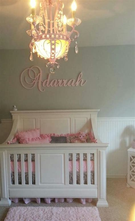 wall decor glittered wooden sign wooden letters  nursery
