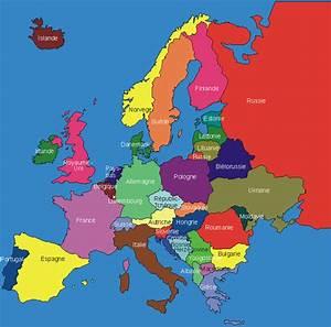 Carte Europe Media Nav Gratuit : carte g ographique de l 39 europe ~ Medecine-chirurgie-esthetiques.com Avis de Voitures