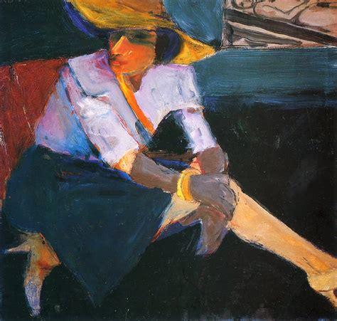 Woman in Hat - Acrylic