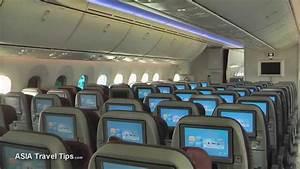 Qatar Airways Boeing 787-8 Dreamliner Tour of Economy and ...