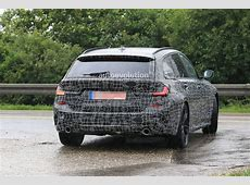G21 BMW 3 Series Wagon Spied in Detail With M Sport Body