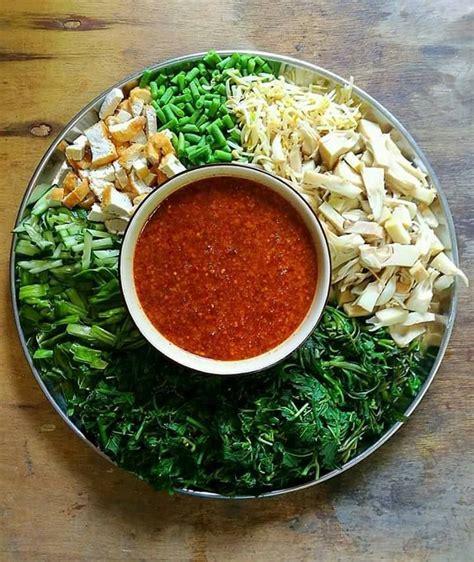 resipi kuah pecal mak ton salad  jawa rasa