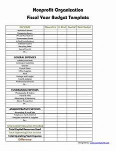 non profit budget template | Budget organization ...